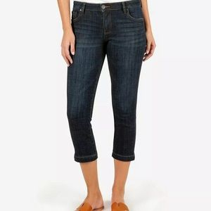 KUT from the Kloth Lauren crop straight jeans 8 A2
